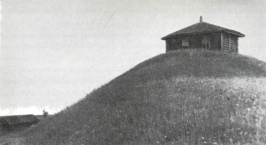 Деревянная часовня в деревне Горка