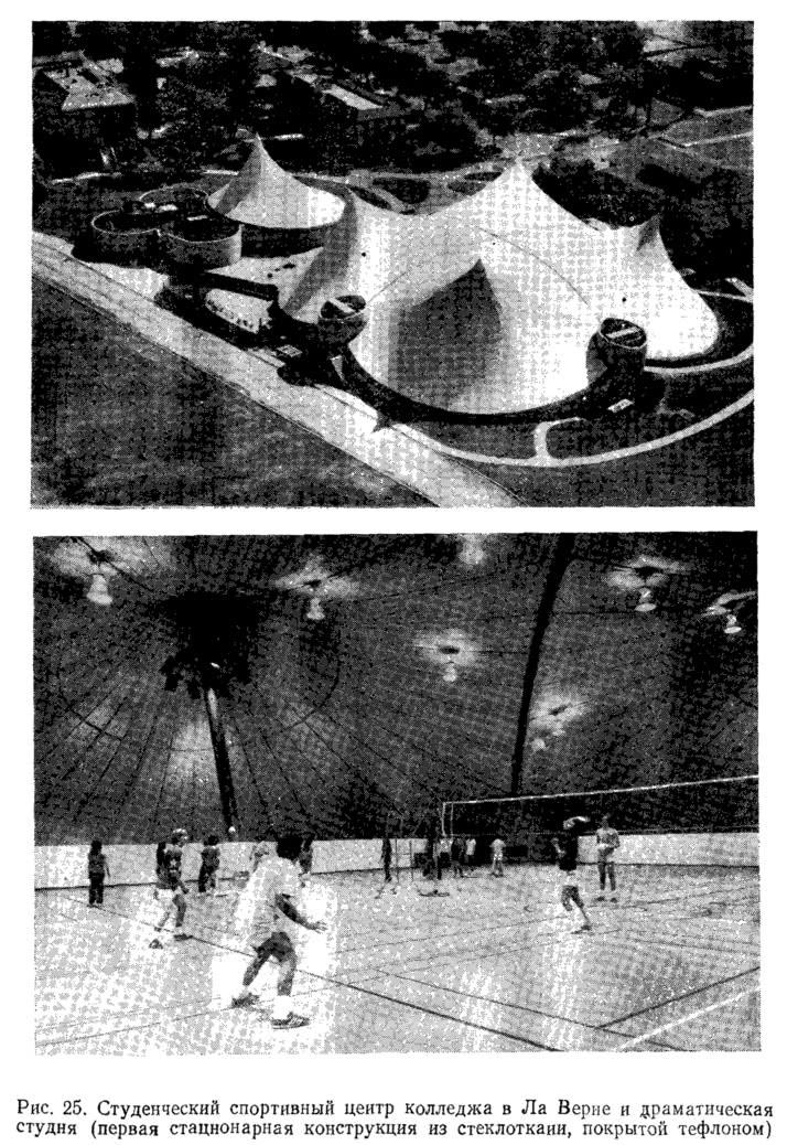 Рис. 25. Студенческий спортивный центр колледжа в Ла Верне