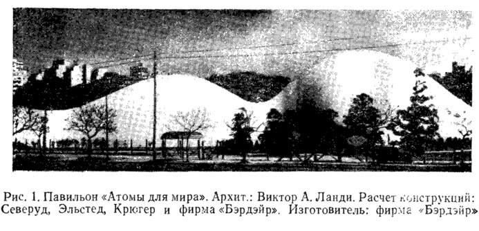 Рис. 1. Павильон «Атомы для мира»