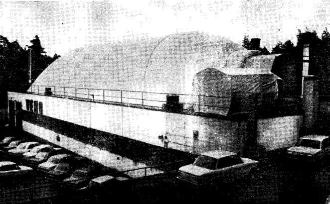 Рис. 14. Резервный склад на крыше завода в Хельсинки