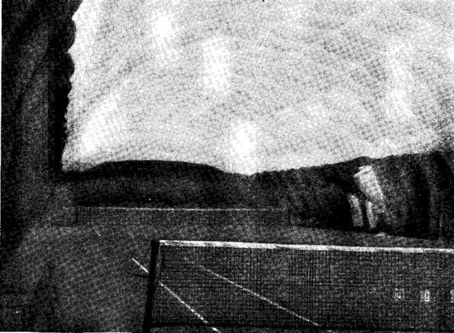 Рис. 17. Двухслойная оболочка над теннисными кортами в Хельсинки (1980 г.)