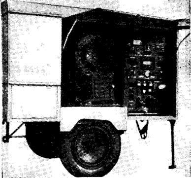 Рис. 11. Передвижной воздухоподающий агрегат