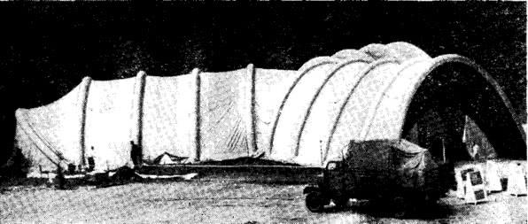 Рис. 4. Общий вид пневмокаркасного сооружения