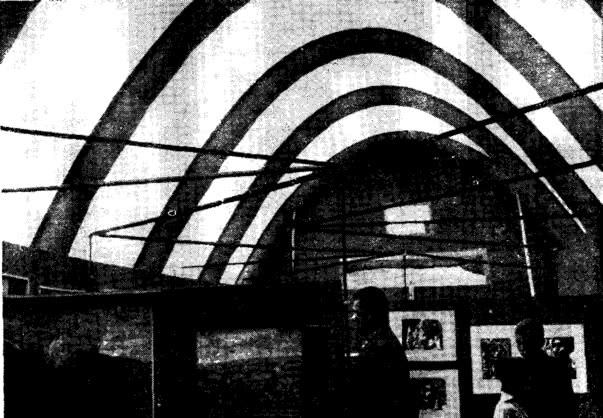 Рис. 5. Интерьер пневмокаркасного сооружения