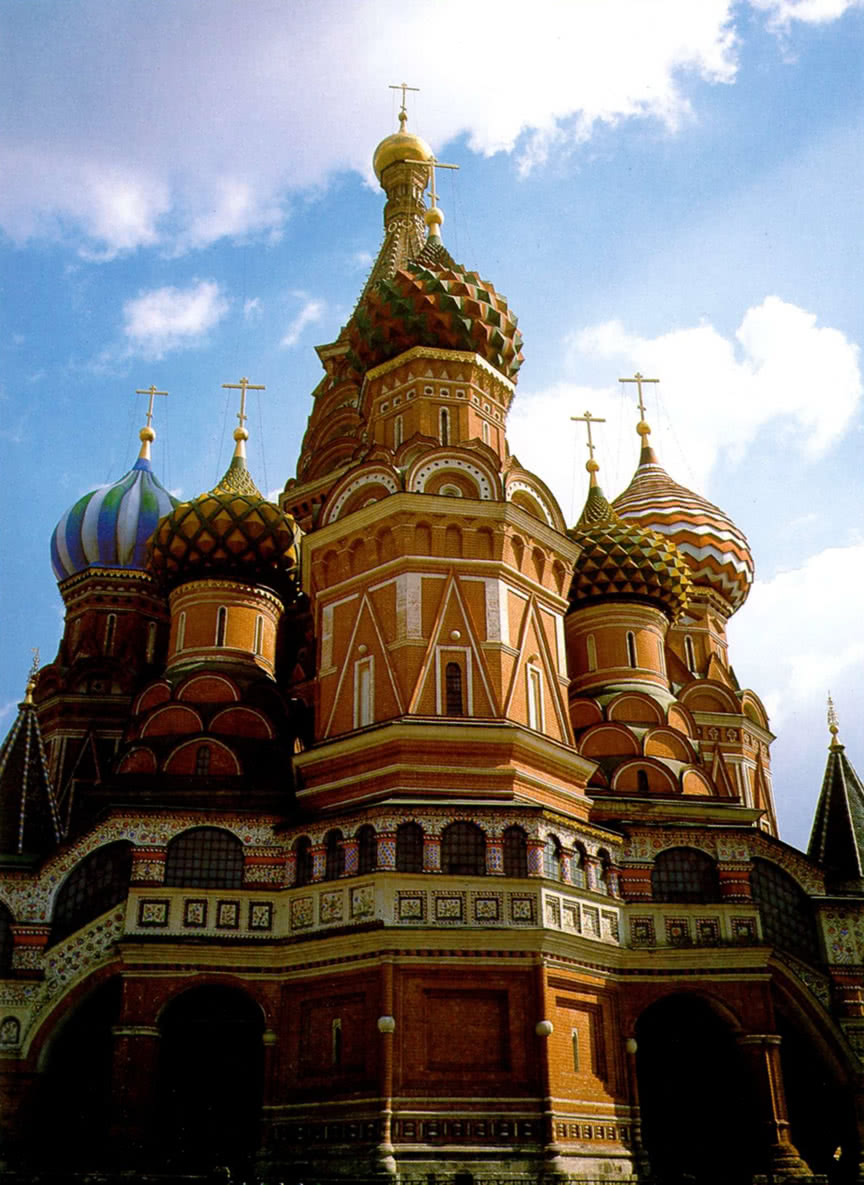Западный фасад Покровского собора