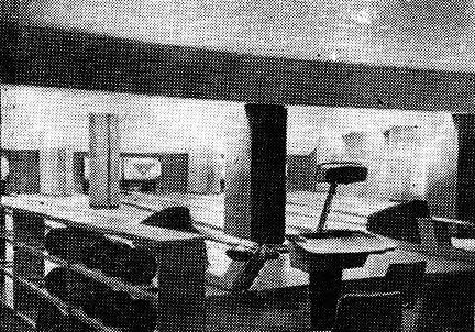 Рис. 68. Кегельбан в гостинице «Космос» в Москве