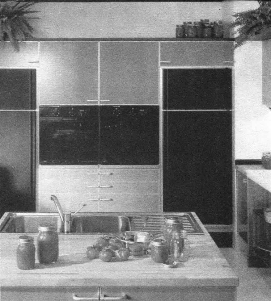 Интерьер современной кухни. Италия, 1980-е