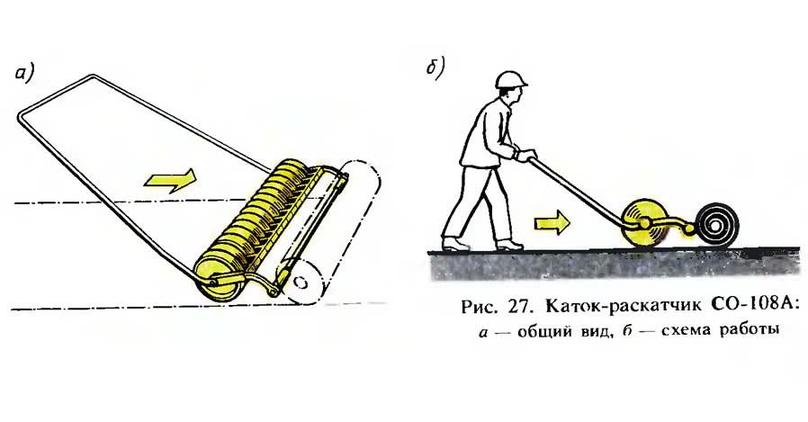 Рис. 27. Каток-раскатчик СО-108А