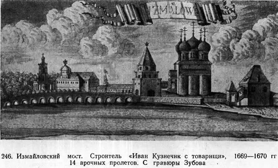 246. Измайловский мост. Строитель «Иван Кузнечик с товарищи»