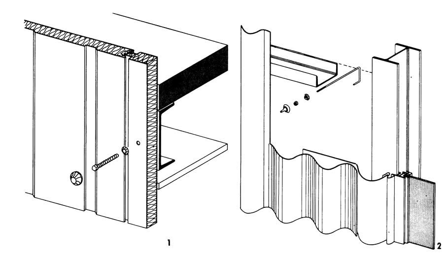 Рисунки 1 и 2. Облицовка