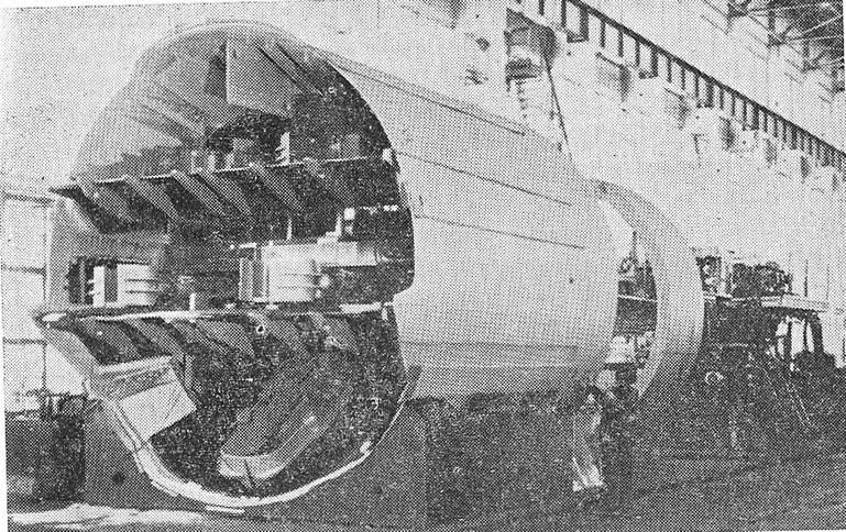 Комплекс ТЩБ-7 для сооружения тоннелей способом пресс-бетона