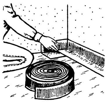 Укрепление кромочной ленты