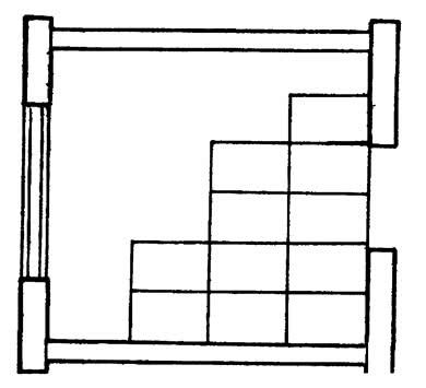 Схема укладки плит из ГВЛВ