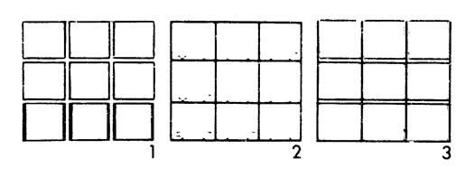 Рисунок 1, 2 и 3.