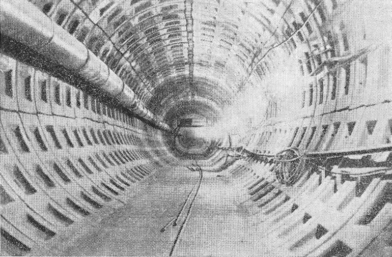 Первый тоннель метрополитена в Новосибирске