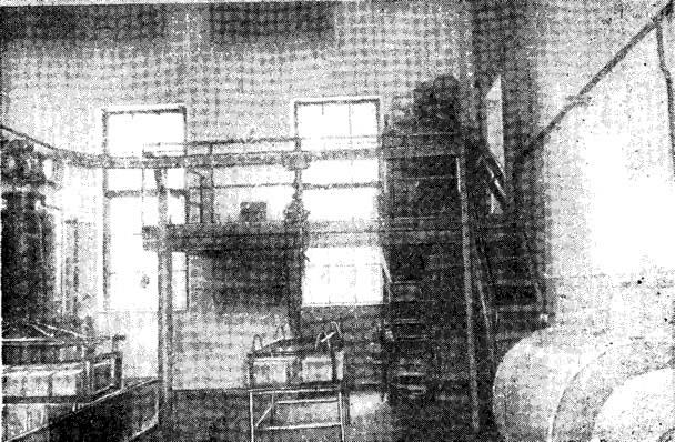 Рие. 11. Установка для производства грунтосиликатных изделий на Дарницком шелковом комбинате
