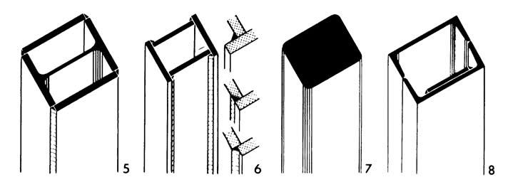 Прямоугольные коробчатые профили