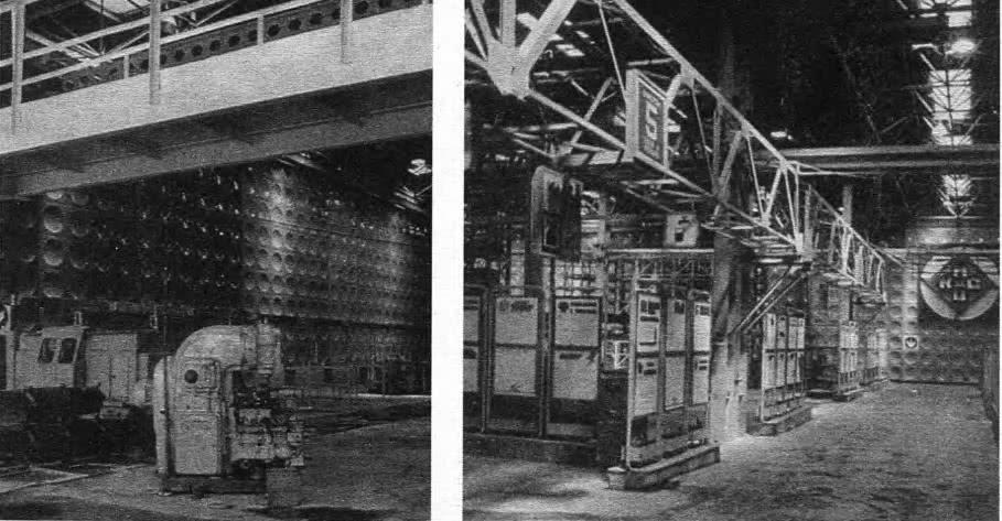 Интерьер промышленного предприятия. СССР, 1980-е