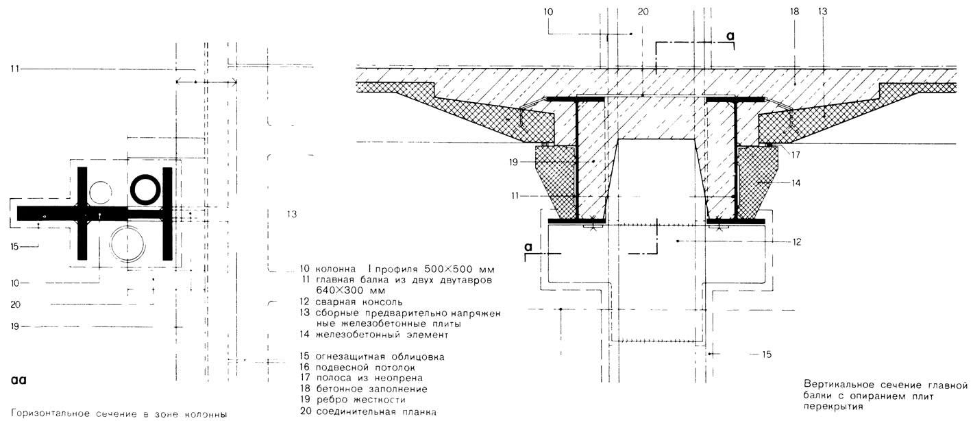Чертежи элементов здания