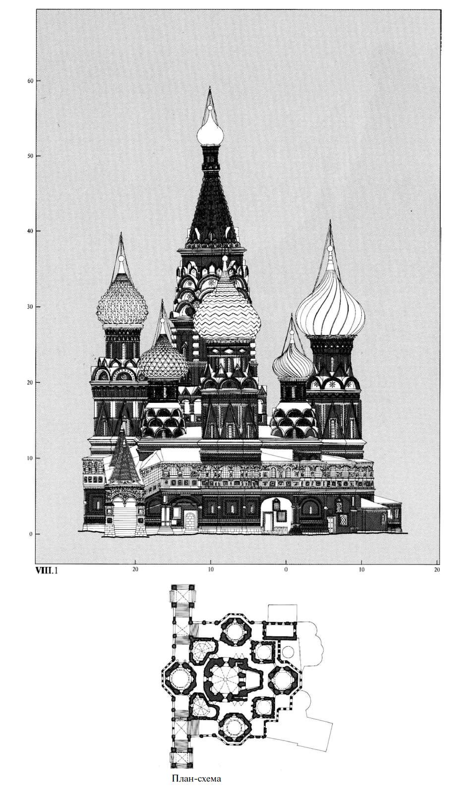 План-схема южного фасада
