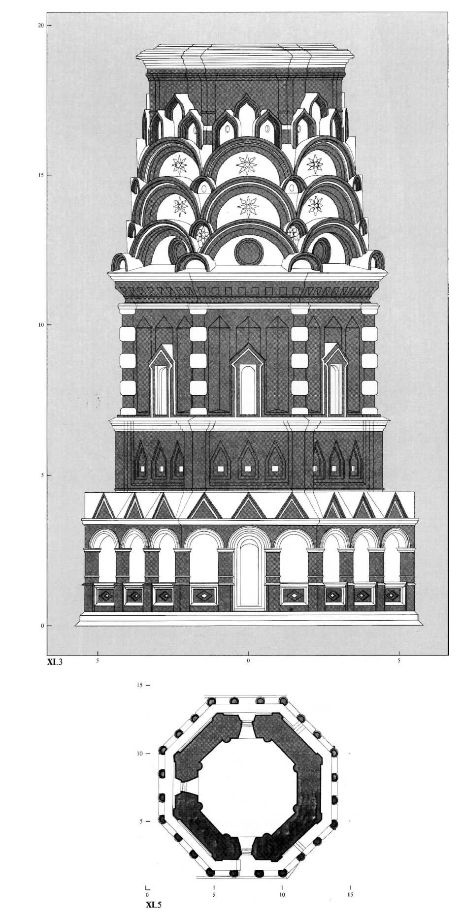 План по гульбищу церкви Покрова