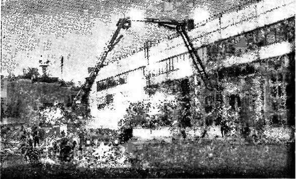 61. Укладка бетонной смеси при бетонировании общезаводской площадки