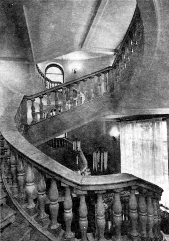 Гостиница Советская. Парадная лестница