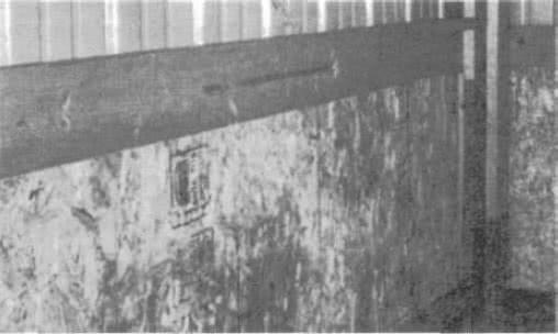 8.8. Обработанная антисептиками древесина используется как нижняя часть опор