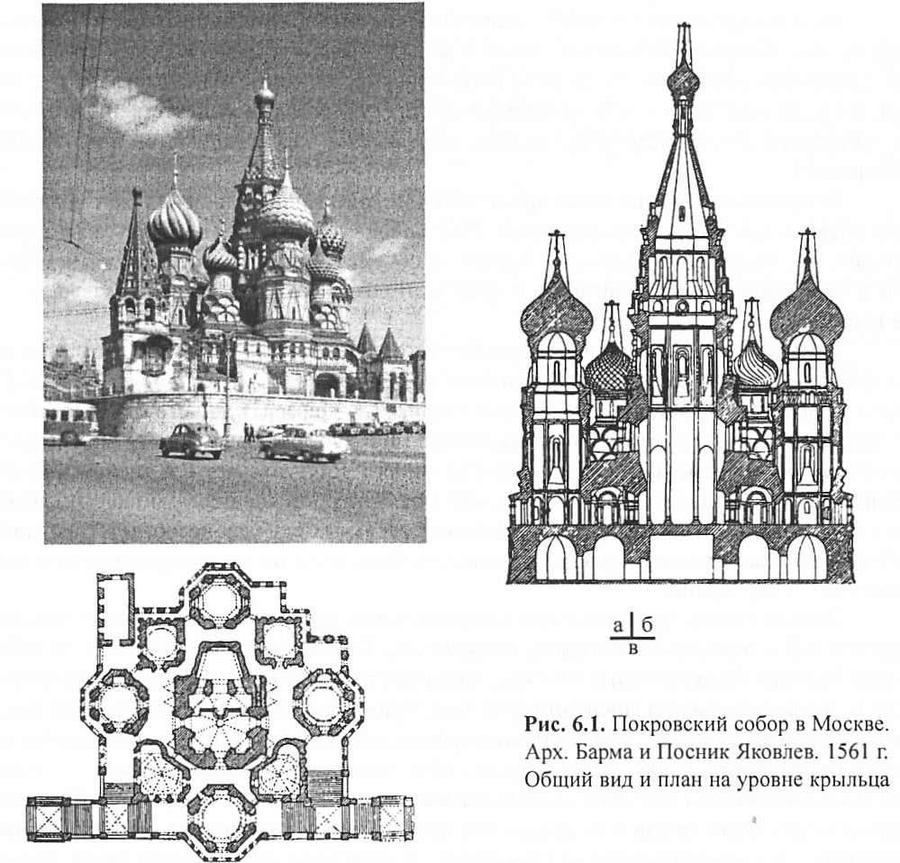 Рис. 6.1. Покровский собор в Москве