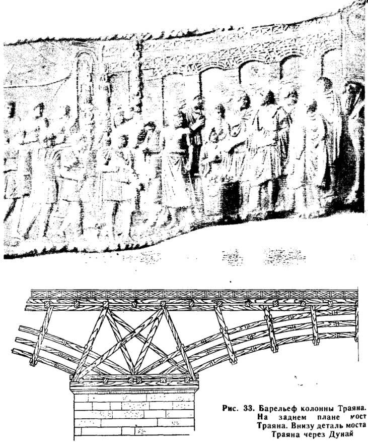 Рис. 33. Барельеф колонны Траяна