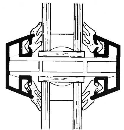 Рис. 4.2. Правильное выполнение разделительного элемента