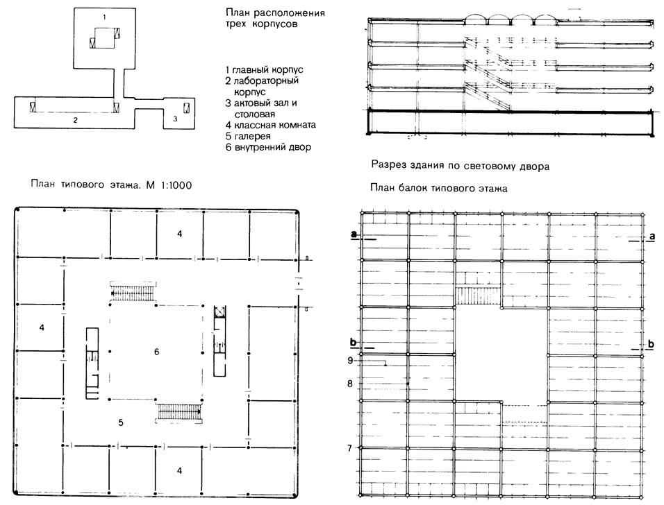План корпусов и этажей