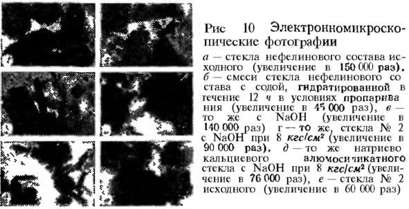 Рис. 10. Электронно-микроскопические фотографии