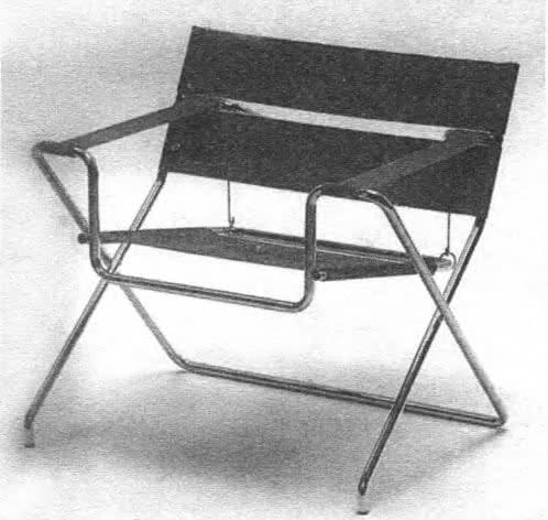 Кресло Василий для дома В. Гропиуса. М. Брейер, 1926