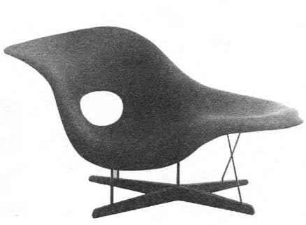 Кресло для конкурса Дешевый мебельный дизайн. Ч. Илз, 1948