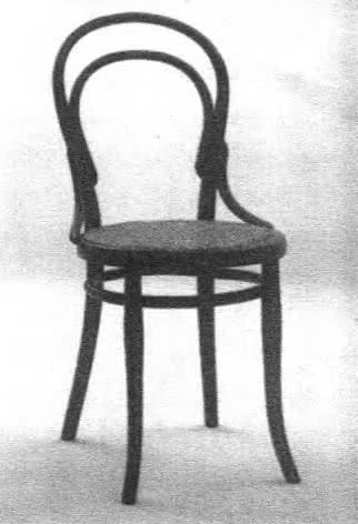 Модель стула № 14. М. Тонет, 1859