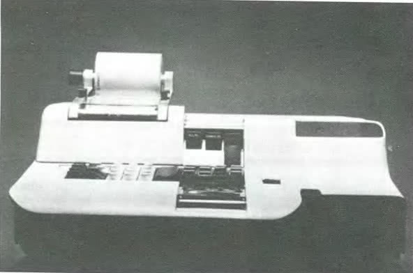 Калькулятор для Оливетти, Марчелло Ниццоли, 1956