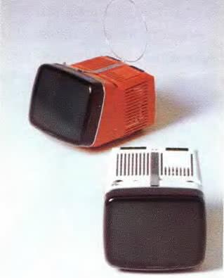 Портативный телевизор, М. Зануццо, Р. Сеппер, 1962