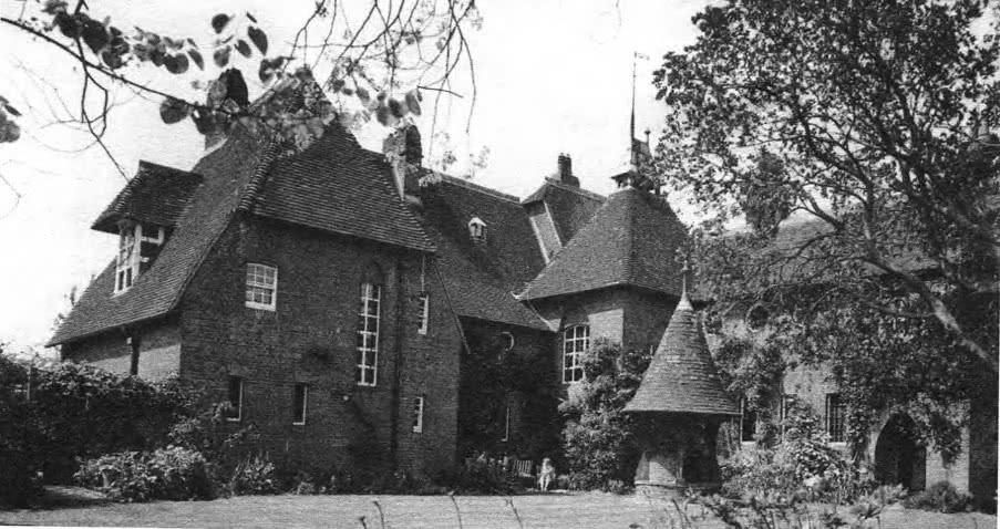 Красный дом У. Морриса в Бексли-Хилс. Архит. Ф. Уэбб, Южная Англия