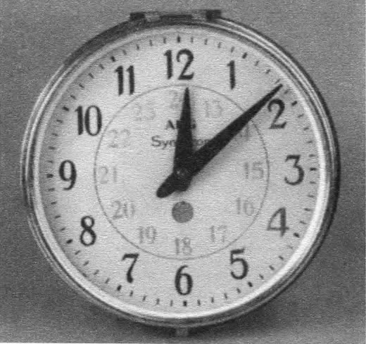 Электрические часы Синхрон, АЭГ, Берлин, 1909