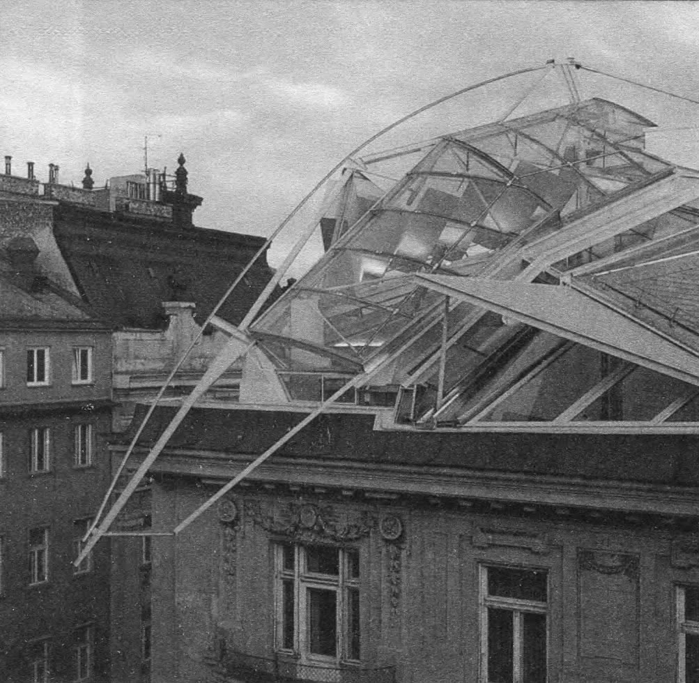 Сочетание старого и нового. Химмельблау, Вена, 1983—1988