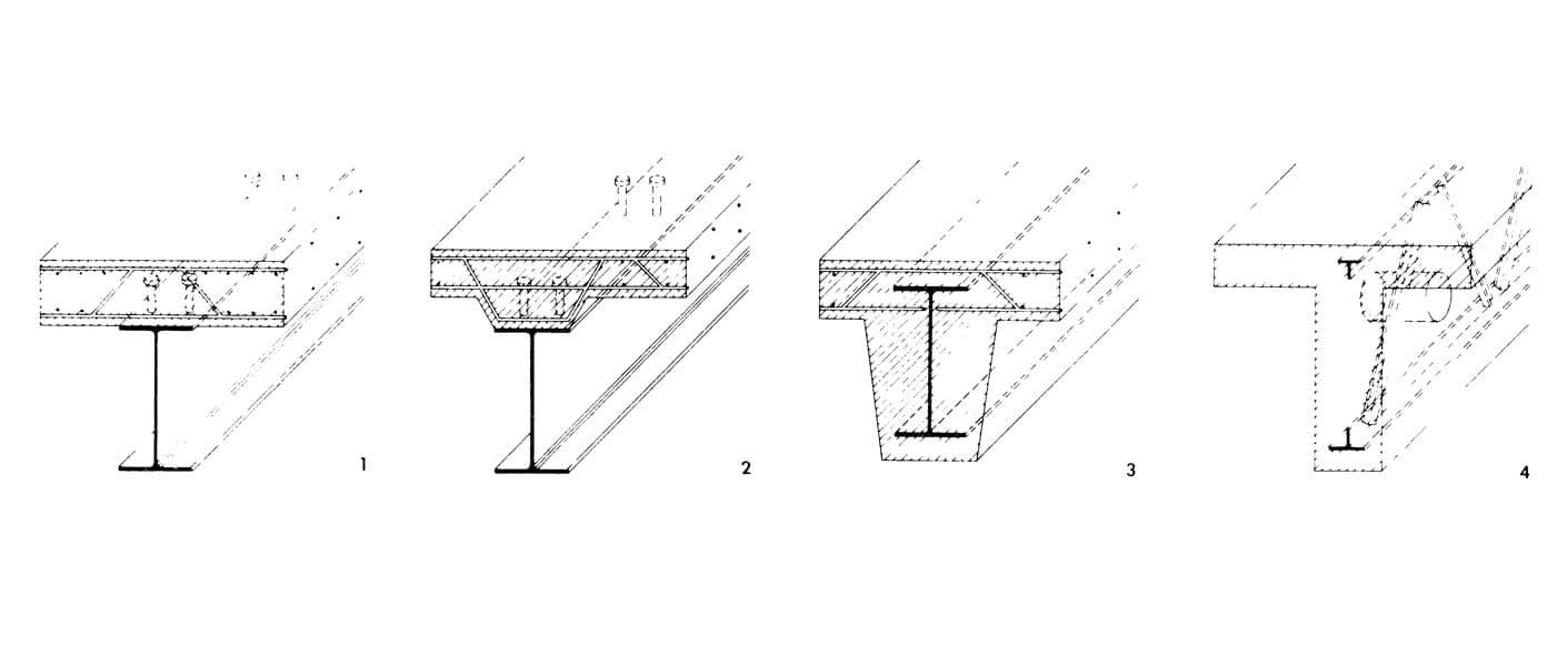 Рисунки 1-4. Монолитные железобетонные перекрытия