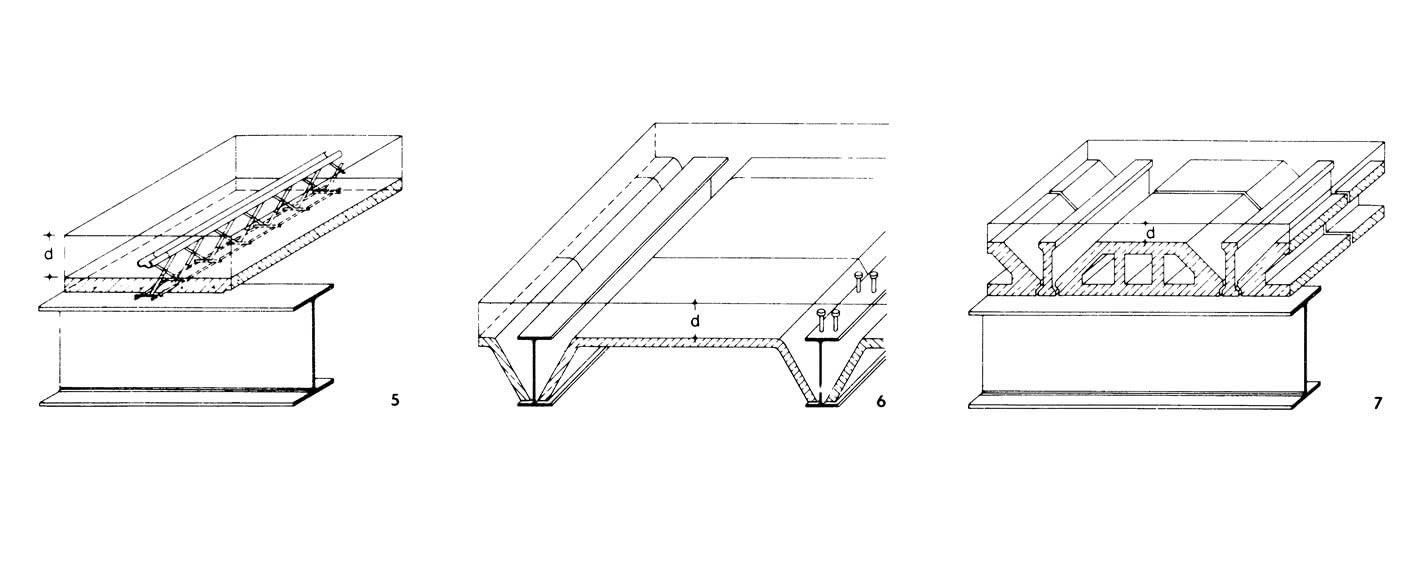 Рисунки 5-7. Перекрытия из сборных железобетонных элементов