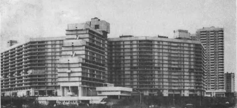 Северное Чертаново. Панорама одной из жилых групп