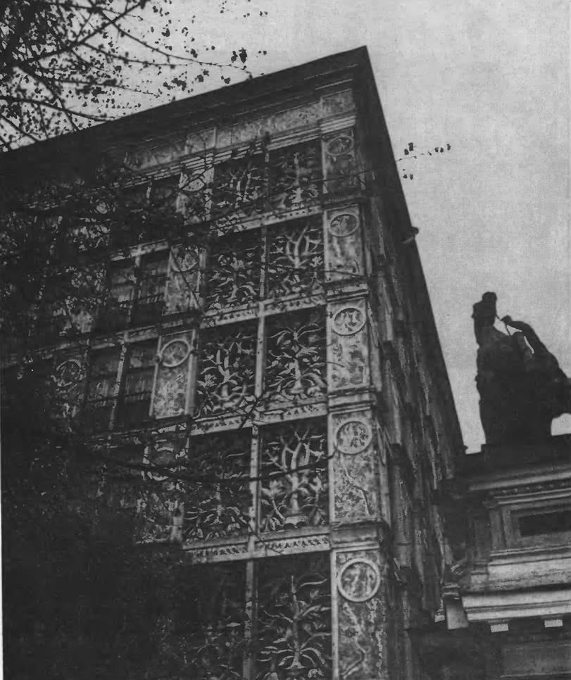 Крупноблочный дом на Ленинградском проспекте, 25. Архитекторы А. Буров, Б. Блохин, 1941
