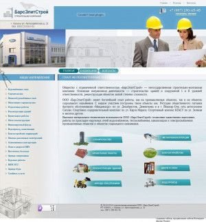 Предпросмотр для barselitstroy.ru — Строительно монтажная компания БарсЭлитСтрой