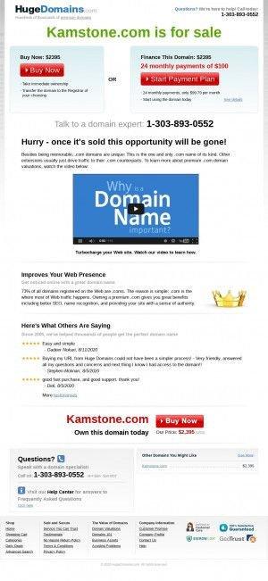 Предпросмотр для www.kamstone.com — Камелот в салоне Декоративный камень