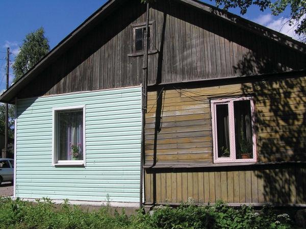 Рис.1.1. Контраст двух разных видов одного дома — в процессе работы