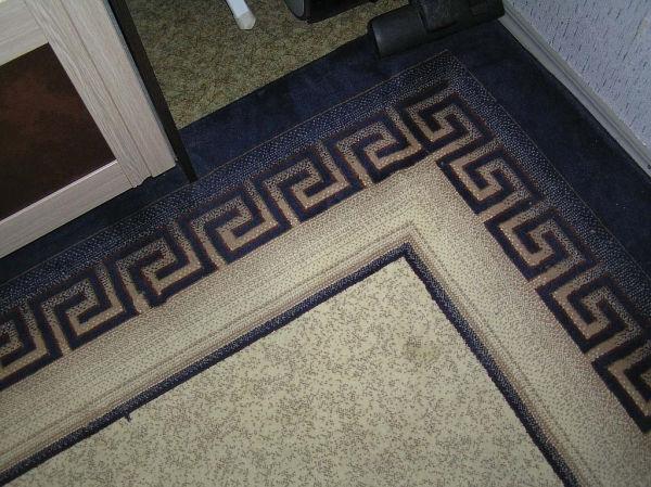 Рис.1.3. Рисунок на ковре послужит прототипом рисунка на стене