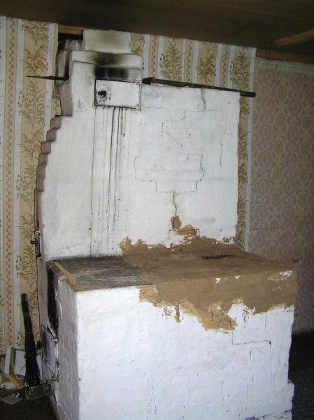 Рис.1.26. Вид на печь при заселении в дом (2008 год)